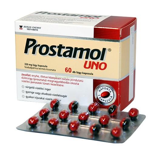 prostamol uno 60 db akció A prostatitis gyertyák kezelése antibiotikumokkal
