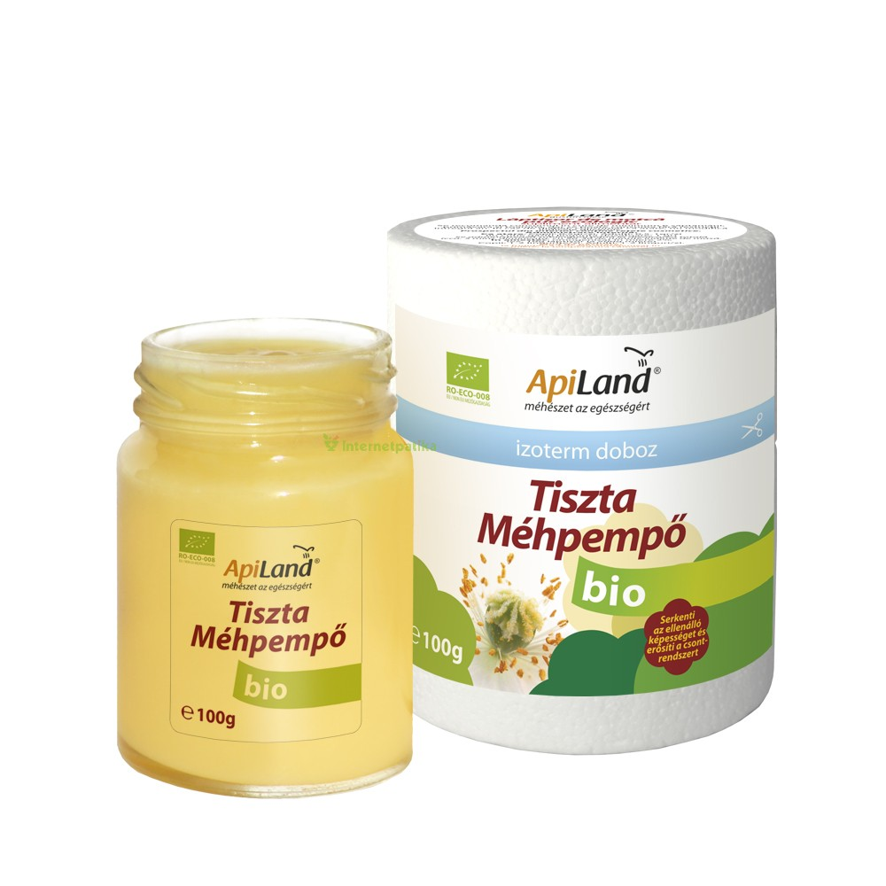 ApiLand Tiszta Méhpempő Bio 100g  e2e4f8e163