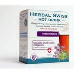 HERBAL SWISS HOT DRINK Gyógynövény-kivonatokat tartalmazó insant italpor 12db