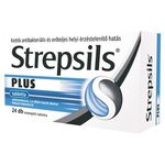 Strepsils Plus tabletta 24 db