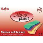 Movo® Plast sebtapasz Színes 24db