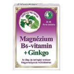 DR.CHEN MAGNÉZIUM B6 GINKGO FORTE TABLETTA 30db