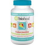 Bioheal Cukormentes Multivitamin Gyermekeknek 70 db
