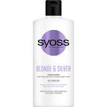 Syoss hamvasító balzsam Blonde&Silver 440 ml
