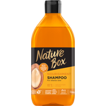 Nature Box sampon argán olajjal a puha hajért 385 ml