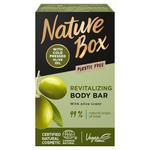 Nature Box szilárd tusfürdő Olíva olajjal a sima bőrért