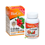 BioCo C+D duo Retard C-vitamin 1000mg+D3 2000NE  100 db