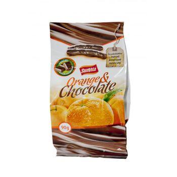 SUNVITA Orange & Chocolate, csokoládéval bevont kandírozott narancshéj 90g