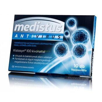 Medistus Antivirus lágypasztilla fertőzések ellen 10db