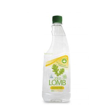 Zöldlomb ÖKO citromsavas szanitertisztító utántöltő 750ml