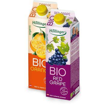 HÖLLINGER bio ivólé Őszibarack 50%-os  1000 ml