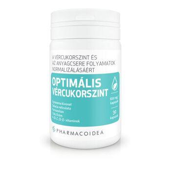 Pharmacoidea Optimális vércukorszint kapszula 30db