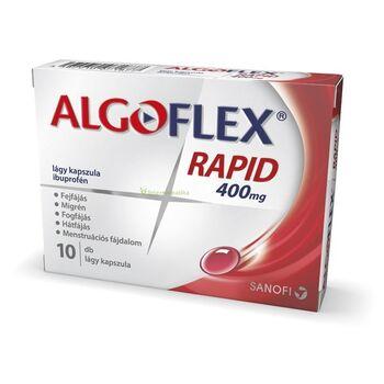 Algoflex Rapid 400mg lágy kapszula 10 db