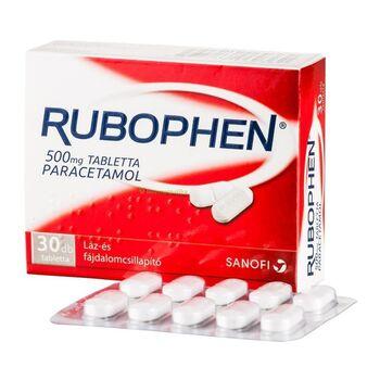 Rubophen 500mg tabletta 30 db