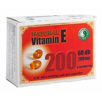 VITAMIN E 200 mg KAPSZULA 60 db