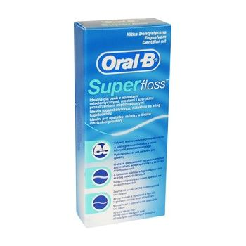 ORAL-B FOGSELYEM SUPER FLOSS 1db