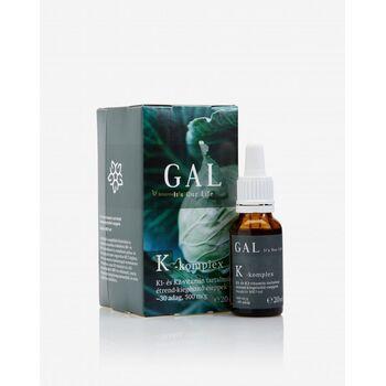 GAL K-komplex vitamin (500 mcg K-komplex) 30 adag  20 ml (GAL)