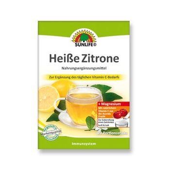Sunlife Forró citrom italpor 20 db