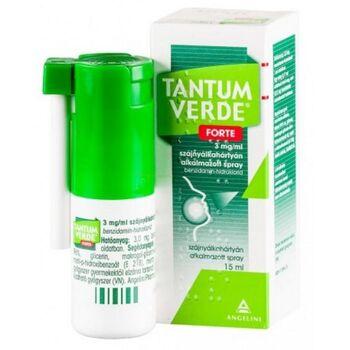 Tantum Verde Forte 3mg/ml szájnyálkahártyán alkalmazott spray 15 ml