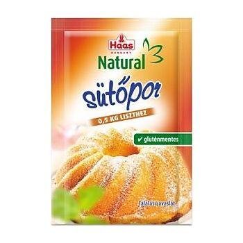 GLT.SÜTŐPOR NATURAL /HAAS/ 12 g