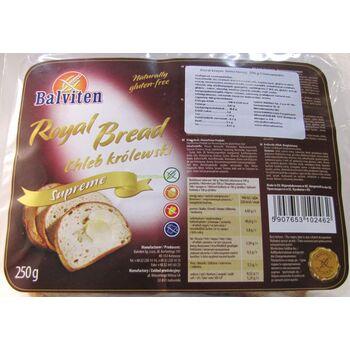 Balviten gluténmentes royal kenyér 250 g