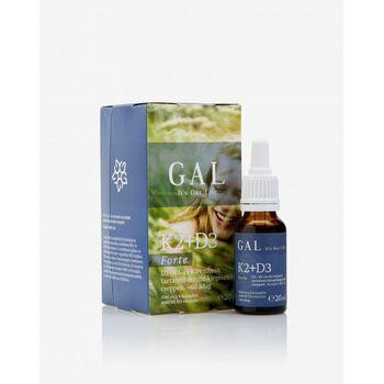 GAL K2+D3 vitamin Forte (1000 mcg K-komplex + 4000 NE D3) 60 adag 20 ml (GAL)