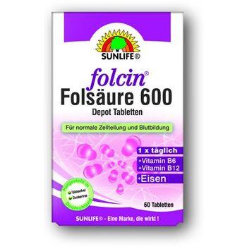 Sunlife Folsav 600 tabletta 60 db