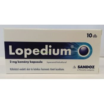 Lopedium 2mg kemény kapszula 10 db