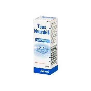 Tears Naturale II Med lubrikáló szemcsepp 15 ml