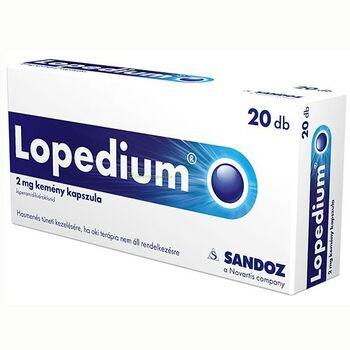 Lopedium 2mg kemény kapszula 20 db