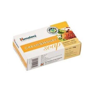 Himalaya Herbals Tápláló krémes-mézes szappan - normál bőrre 75 g