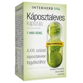 INTERHERB - KÁPOSZTALEVES KAPSZULA 60 DB