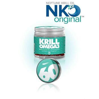 NKO KRILL-Omega3 100% tisztaságú krill olaj asztaxantin tartalommal (500 mg) 60db (VITÁLVÁR)
