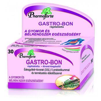Gastro-Bon rágótabletta édesgyökér (DGL) kivonattal és 5-féle probiotikummal 30db