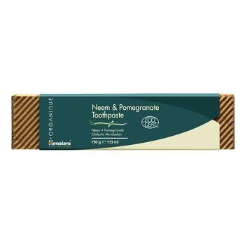 Organique by Himalaya Organikus fogkrém nim és gránátalma kivonattal 150 g (Himalaya Herbals)