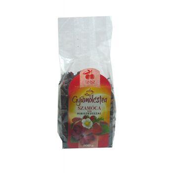 IZ-ISZ Szamóca ízű gyümölcstea keverék hibiszkusszal 100 g
