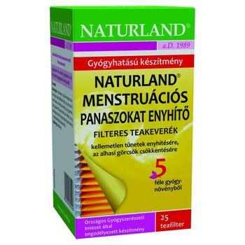 NATURLAND MENSTRUÁCIÓS PANASZOKAT ENYHÍTŐ TEA 25X1G