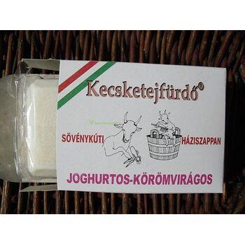 Kecsketejfürdő® Sövénykúti Háziszappan Joghurtos-Körömvirágos 100 g