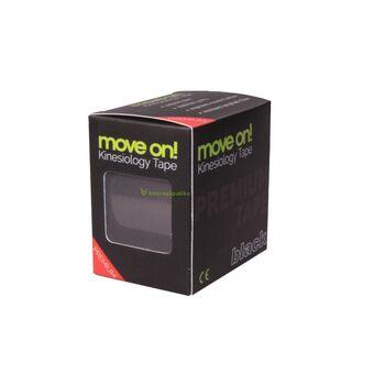 Move on! kineziológiai szalag (tape) fekete színben 1db