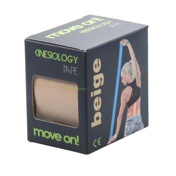 Move on! kineziológiás szalag (tape) bézs színben 1db
