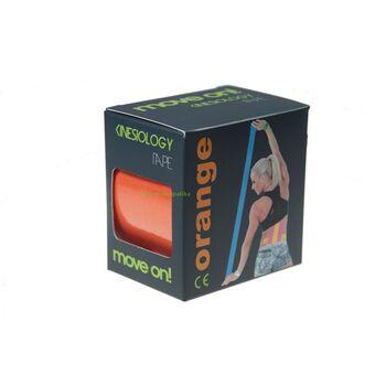 Move on! kineziológiai szalag  (tape) narancs színben 1db