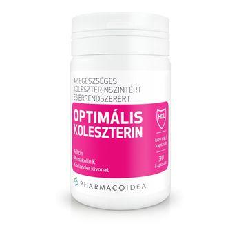 Pharmacoidea Optimális koleszterinszint kapszula 30db