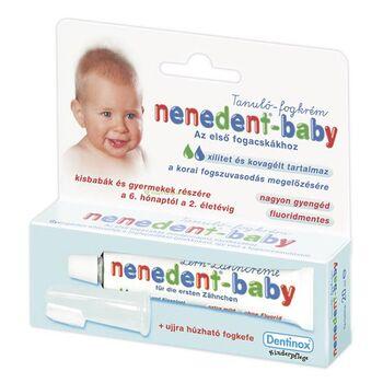 Nenedent Baby fogkrém + fogkefe 20 ml