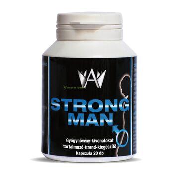 Strong Man Gyógynövény-kivonatokat tartalmazó Étrend-kiegészítő kapszula