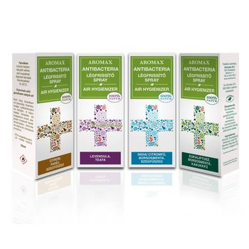 AntiBacteria Légfrissítő spray, Indiai citromfű-Borsosmenta-Szegfűszeg 20ml