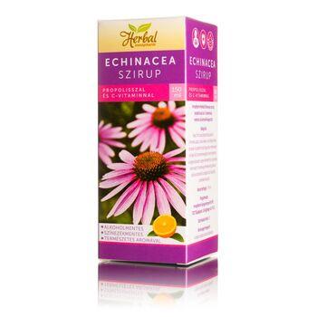 InnoPharm Herbal Echinacea szirup propolisszal és C-vitaminnal 150ml