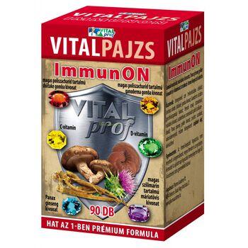 Vitalpajzs ImmunON tabletta 90db