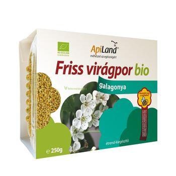ApiLand Nyers Galagonya Virágpor Bio 250g