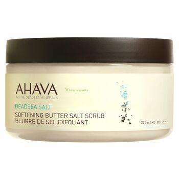AHAVA Selymesítő sós testradír, 220 g
