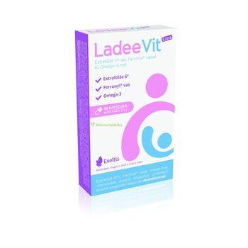 LadeeVit Extra Extrafolát S-sel, Ferronyl vassal és omega 3-mal